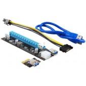 <TXB901-B> Адаптер PCI-Ex1->PCI-Ex16