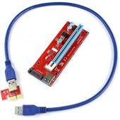 <PCE164P-N03 Ver007S> Адаптер PCI-Ex1 M -> PCI-Ex16 F