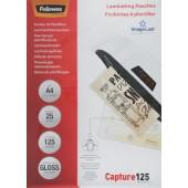 Fellowes 125мкм A4 (25шт) глянцевая 216x303мм CRC-53963 (FS-53963)