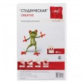 Бумага Creative БС-100 A4/80г/м2/100л./белый CIE100% матовое общего назначения(офисная)