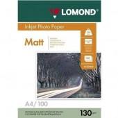 Фотобумага Lomond 0102004 A4/130г/м2/100л./матовая для струйной печати до 2880dpi hv