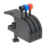Logitech Pro Flight Throttle Quadrant (6кн., 3xthrottle, USB) 945-000015