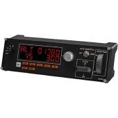 Logitech G Saitek Pro Flight Radio Panel черный (945-000011)