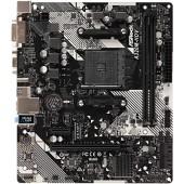 AsRock A320M-HDV R4.0 (mATX, A320, 2xDDR4-3200, M.2, VGA, DVI, HDMI, COM)