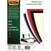 Fellowes A4 250г/м2 черный (25шт) CRC-53738 (FS-53738)