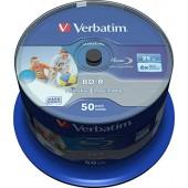 BD-R Disc Verbatim 25Gb 6x, printable <43712/3>