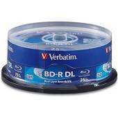 BD-R Disc Verbatim 50Gb 6x Dual Layer <уп.10 шт> на шпинделе<43746>