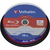 BD-RE Disc Verbatim 25Gb 2x <уп.10 шт> на шпинделе<43694>