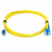 Patch cord ВО, LC-LC, Duplex, SM 9/125 1м