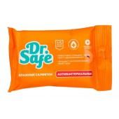 Dr.Safe Антибактериальные влажные салфетки, с экстрактом ромашки (15 шт)