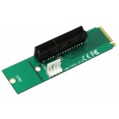 Espada <EM2-PCIE> Переходник Riser card M2 2260/2280 to PCI-Ex4 F