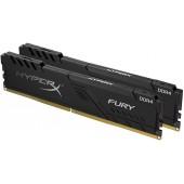 16GB (2x8GB) PC-21300 DDR4-2666 Kingston HyperX Fury (HX426C16FB3K2/16) Black CL-16
