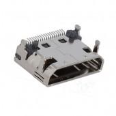 Адаптер HDMI 19P Female-Female 90