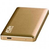 "AgeStar 2.5"" SATA 31UB2A16C Gold (USB3.1)"