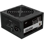 БП Deepcool 500W DA500 (DP-BZ-DA500N ) (24+2x4+2x6/8пин) RTL RTL ATX 2.4, PWM 120mm fan, Active PFC, 80 Plus Bronze