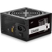 БП Deepcool 600W DA600 (DP-BZ-DA600N) (24+2x4+4x6/8пин) RTL ATX 2.4, PWM 120mm fan, Active PFC, 80 Plus Bronze