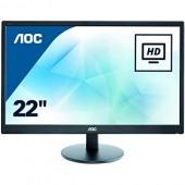 "21.5"" AOC E2270SWN Black (16:9, 1920x1080, TN+Film, 60 Гц, интерфейсы D-Sub (VGA))"