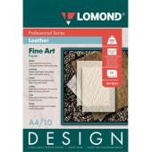 "Бумага ""Кожа"" Lomond 0918041 A4/200г/м2/10л. глянцевая для струйной печати ярко-белая дизайнерская"