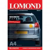 Бумага магнитная Lomond 2020345 A4/660г/м2/2л./белый глянцевое для струйной печати
