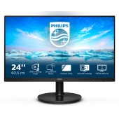 """23,8"""" Philips 241V8LA/00 (16:9, 1920x1080, VA, 75 Гц, динамики, интерфейсы HDMI+D-Sub (VGA))"""
