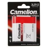 Батарейка (элемент питания) Camelion Plus Alkaline 3LR12-BP1 3LR12 BL1, 1 штука