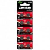 Батарейка (элемент питания) Camelion AG4-BP10 (0%Hg) AG 4 377 BL10, 1 штука