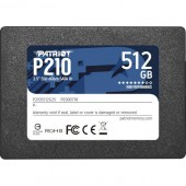 SSD накопитель Patriot 512Gb P210