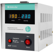 Стабилизатор Defender <ASF 1000D> (600W, вх.140 ~ 270V, 1 розетка евро.стандарт) <99035>