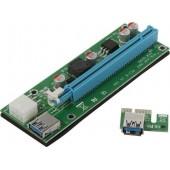 Espada < EPCIeKit ver009s> Адаптер PCI-Ex1 M -> PCI-Ex16 F