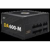 БП Deepcool 600W DA600-M (24+2x4+4x6/8пин) Full Cable Management, 80 Plus Bronze