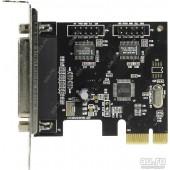 Espada <PCIe2S1PLWCH> (OEM) PCI-Ex1, 2xCOM9M + 1xLPT25F, LowProfile