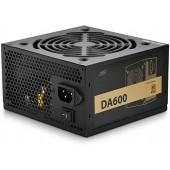Deepcool DA-600 600W (DP-BZ-DA600N) (120mm, APFC, 80+ Bronze)