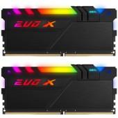 16Gb (2x8GB) PC-25600 DDR4-3200 GeIL EVO X II (GEXSB416GB3200C16ADC) Black CL-16