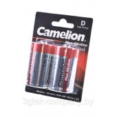 Батарейка (элемент питания) Camelion Plus Alkaline LR20-BP2 LR20 BL2, 1 штука