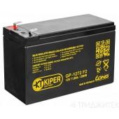 Аккумуляторная батарея Kiper GP-1272 12V/7.2Ah