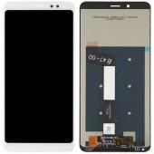 LCD дисплей для Xiaomi Redmi 4X в сборе с тачскрином (белый) Оригинал-переклей