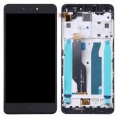 LCD дисплей для Xiaomi Redmi 4X в сборе с тачскрином (Оригинал, черный)