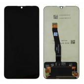 LCD дисплей для Huawei P Smart 2019, PSmart2019 с тачскрином (черный) Оригинал в раме