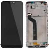 LCD дисплей для Xiaomi Mi 6 с тачскрином (черный), Оригинал