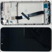 LCD дисплей для Xiaomi Redmi 4A с тачскрином (Оригинал, черный)