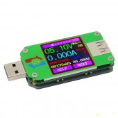 USB тестер UM24C с цветным экраном и bluetooth