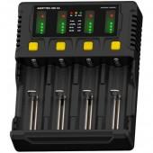 Armytek Uni C4 Универсальное 4 канальное ЗУ / до 2A на канал / LED индикация / &10;для IMR/Li-Ion, Ni-MH, Ni-Cd, LiFePO4, Ni-Zn / автоадаптер